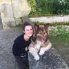 Juliette: Une promenade/une garde a domicil pour un chien heureux