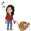 Isabelle: Une dog-sitter pour votre gros chien à Paris!