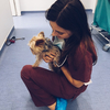 Carolina: Estudiante de Veterinaria y cuidadora de perros en Valencia 🤗