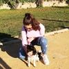 Ángela: Me encantan los animales y me lo paso genial con ellos!!