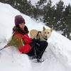 Inés: Largos paseos por la naturaleza y guardería de día. Perros grandes bienvenidos!