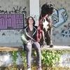 Ines: Une fan de grand chien