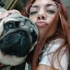 Giuliana: Promenade des chiens à Paris