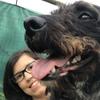 Nadia: Cuidador con jardín cerca del Ortegal para perros medianos y pequeños