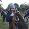 Eva: Uno más en la familia, estudiante de veterinaria
