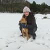 Carla:  Estudiante de veterinaria cuida perros en Sevilla la Nueva