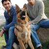 Jose Maria: Casa con patio, me encantan los perros