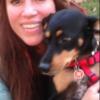 Claudia : Cuidador de perros en Alpedrete casa con jardín.