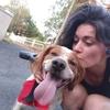 Chloé: Promenade, sport avec des animaux.