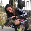 Fatima: Cuidadora de perros en Granada - actividad, cariño, zonas verdes