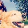 Esther: Esther y Lola, cuidadoras y amigas de perros en Valencia