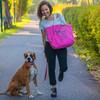 Agustina: Hundewanderern in Berlin-Neukölln