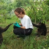 Nazaret: Cuidadora amante de los animales en Getafe