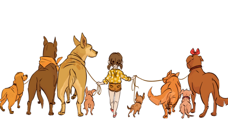 Slider dog walker by lelpel d9yc0ho